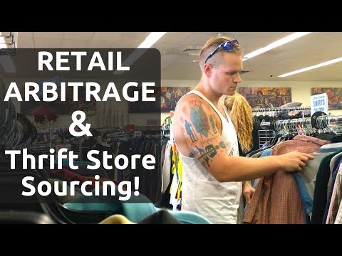 Retail Arbitrage & Thrift Sourcing (eBay/Amazon) Diversify Your INCOME Streams! - RALLI ROOTS