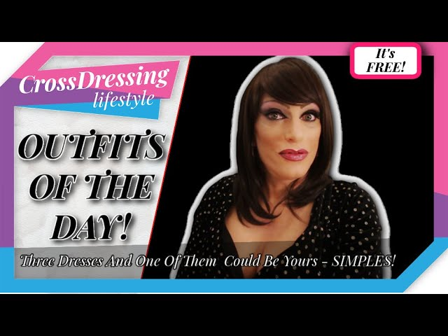 Crossdressing Outfits of the day Review and Give Away just for you!