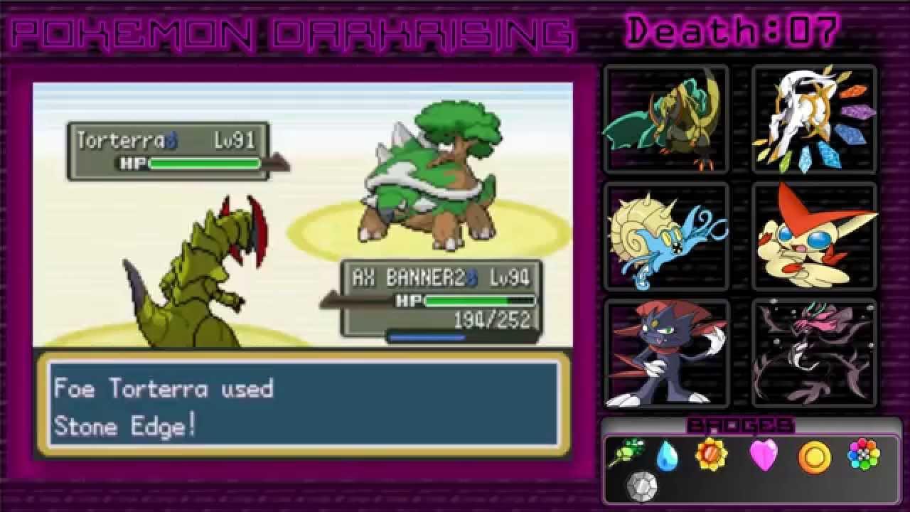 Pokemon dark rising gym leaders location for Gimnasio 8 pokemon reloaded