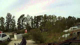 The War Zone airsoft skirmish 8-19-12 game 1 part 1