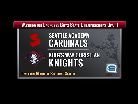 Boys Lacrosse Division II WA State Championship Game