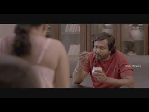 Bobby Simha Abuses Meghna - Aaaah (2014) Tamil Horror Movie Scenes