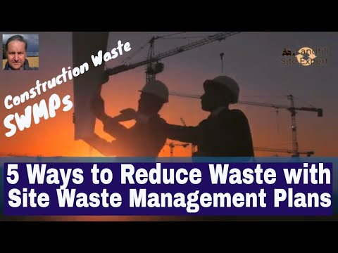 Construction Site Waste Management Plans (SWMPs) in 9 Easy Steps - Sustainable Cost Saving Method