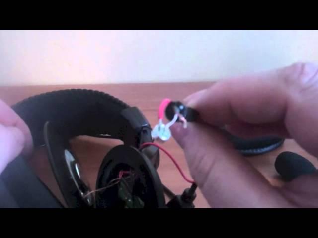 Turtle Beach X12 Mic Repair - YouTube   Turtle Beach X12 Wiring Diagram      YouTube