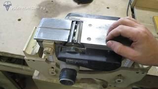 Установка ножей в электрорубанок