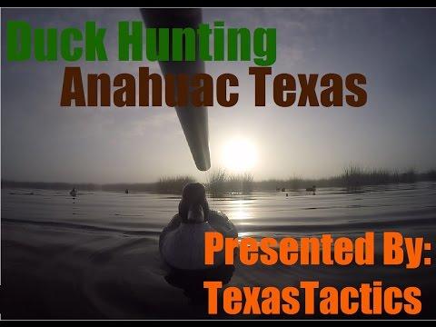 Duck Hunting Anahuac Texas