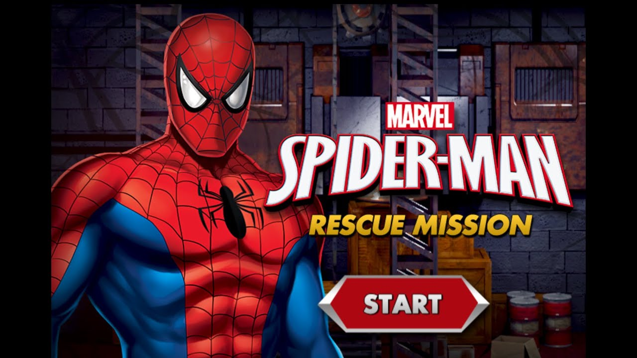 Spiderman Rescue Mission Spiderman Games To Play