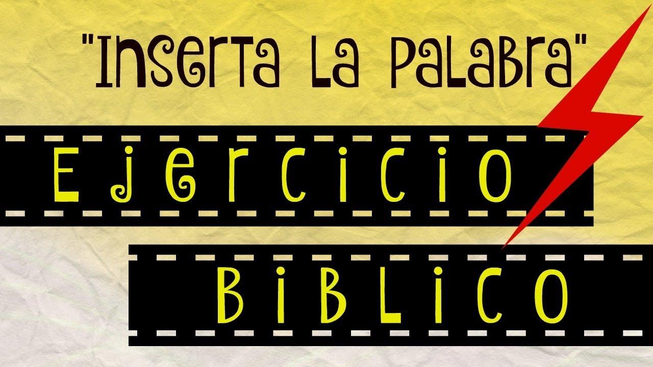 Ejercicio Biblico Sociedad De Jovenes Jovenes Adventistas