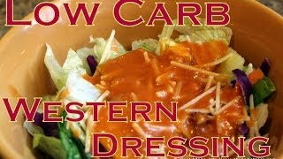 Atkins Diet Recipe: Low Carb Western Salad Dressing (or French) (IF)