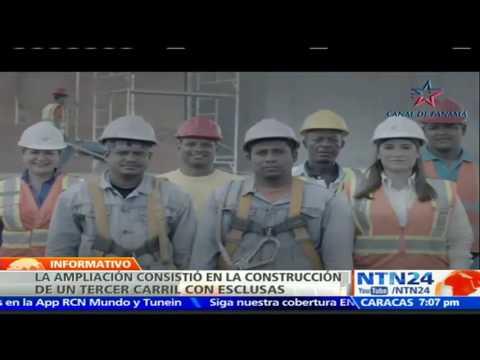 Gran despliegue de patriotismo, alegría y orgullo en la inauguración del nuevo Canal de Panamá