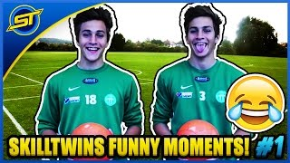 skilltwins funny moments 1 fails bloopers laughs outtakes