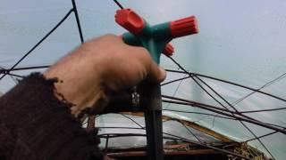 Система полива огорода,видео 2.