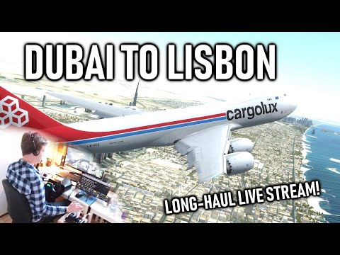 ✈️👨‍✈️ VATSIM Flight: Dubai to Lisbon! - The Expedition Event - Cargolux Boeing 747-8! [P3D V4.5] thumbnail