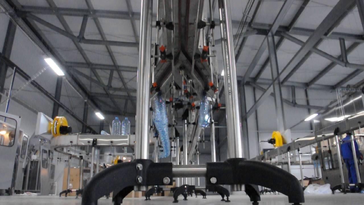 Воздушный конвейер для бутылки пэт транспортер экскаватора
