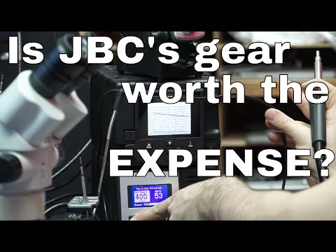 JBC Precision hot air and soldering station review with comparison to cheaper Hakko gear