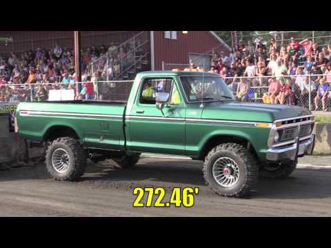Street Gas Truck Pulling Shootout Productions 2016