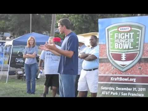 AYF & Kraft Huddle to Fight Hunger - Kansas City with Trent Green