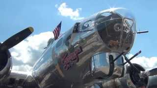 Sentimental Journey - Inside and Outside a WWII B-17 Bomber