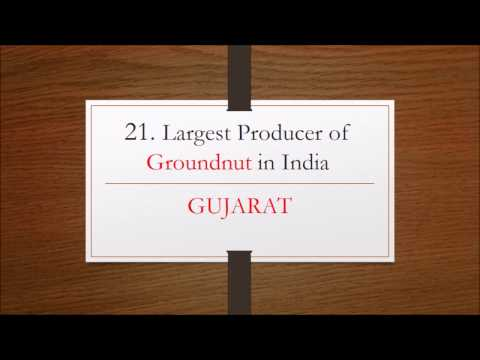 25 Largest Crop Producing States in India- Geography GK