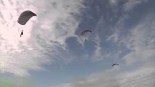 Military Clips - Ram Air Parachute Jump HD