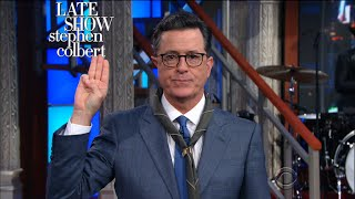 Our President Needs The Validation Of Boy Scouts by : The Late Show with Stephen Colbert