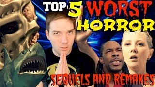 Top 5 WORST Horror Remakes & Sequels