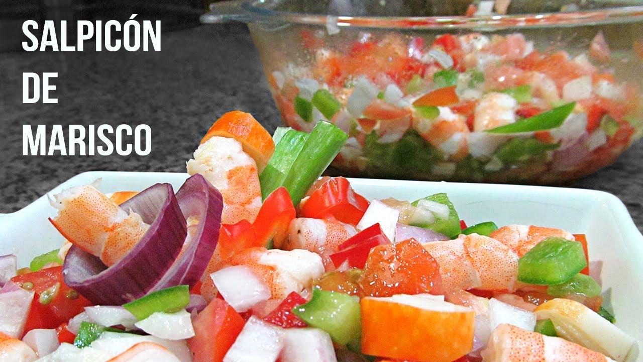 Salpic n de marisco youtube for Youtube cocina para todos