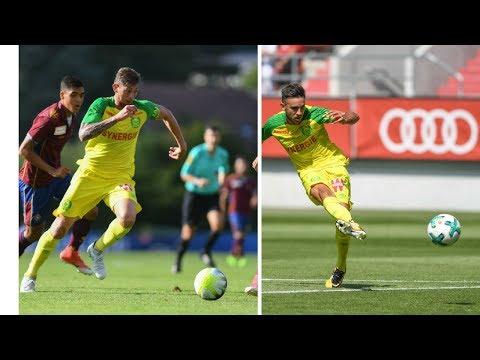 Résumés Nantes vs Servette FC et Ingolstadt ( images FCNA TV )