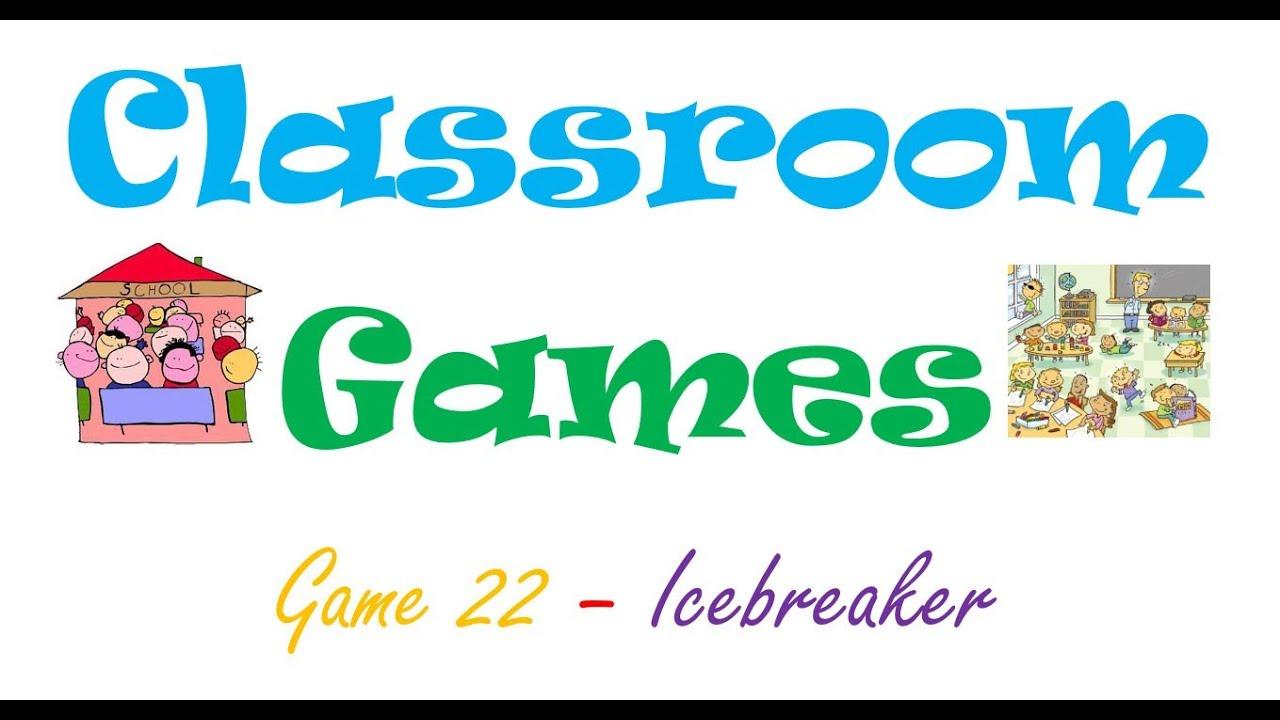 hight resolution of Classroom Games (22) Icebreaker - YouTube