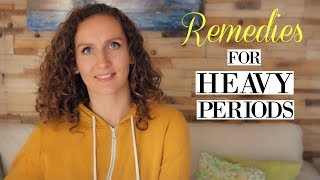 How To Stop Heavy Periods + How Heavy is Too Heavy? | Hormonal Balance #5