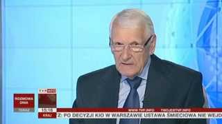 Józef Zych o nowelizacji prawa cywilnego (Rozmowa Dnia TVP Info, 05.06.2013)