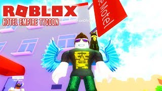 COMKEANS HOTEL! - Roblox Hotel Empire Tycoon Dansk Ep 1