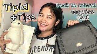 TIPID! Back to School Supplies Haul 2019 (murang scientific calc) | Philippines