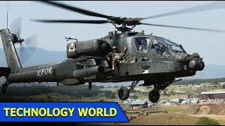 American Apache Helicopter | Airport Firefighter Training | Technology World | Ep 17