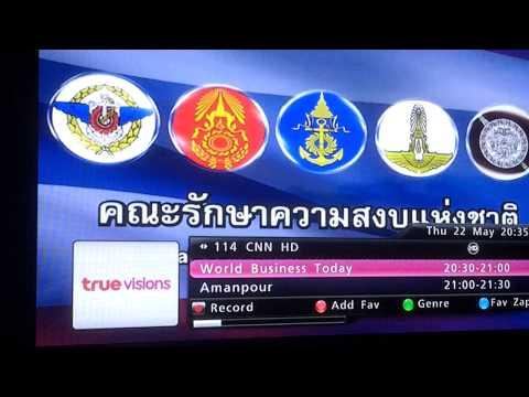 Thai Coup May 22 2014