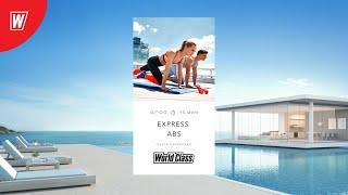 EXPRESS ABS с Ольгой Лагутенко 2 октября 2020 Онлайн тренировки World Class