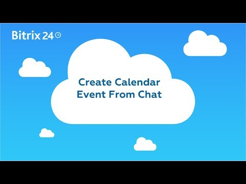 Create Calendar Event From Chat