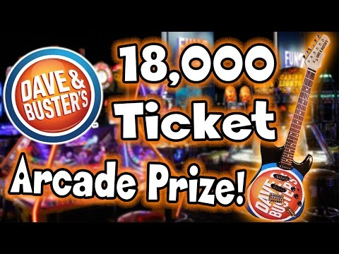 18,000 Ticket Arcade PRIZE!