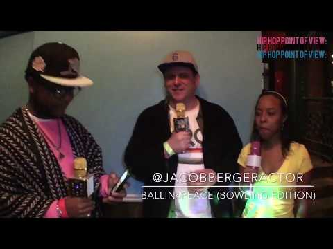 HipHop Point Of View with Jacob Berger at the Ballin4Peace (Bowling Edition)