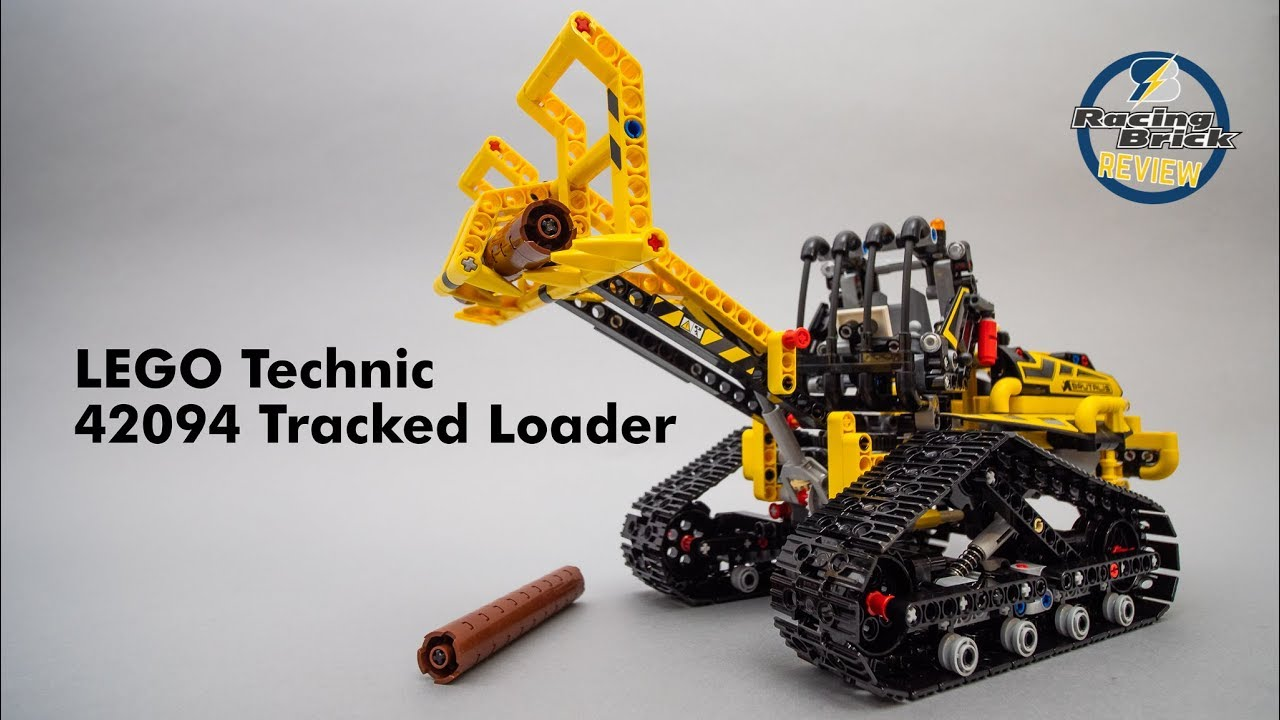 lego technic 2019 reviews 42094 tracked loader unboxing. Black Bedroom Furniture Sets. Home Design Ideas