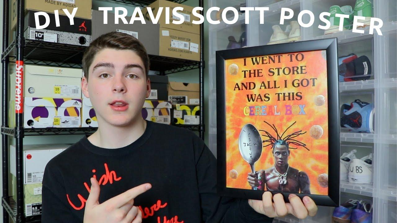 diy travis scott reese s puffs poster under 10