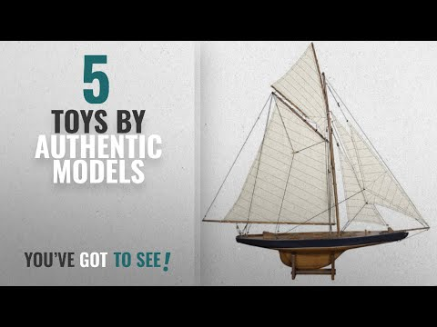 Top 10 Authentic Models Toys [2018]: Authentic Models America's Cup Columbia 1901 Yacht, Small