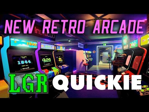 LGR - New Retro Arcade Neon - VR App Review