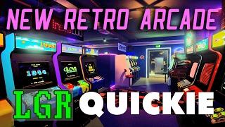LGR – New Retro Arcade Neon – VR App Review