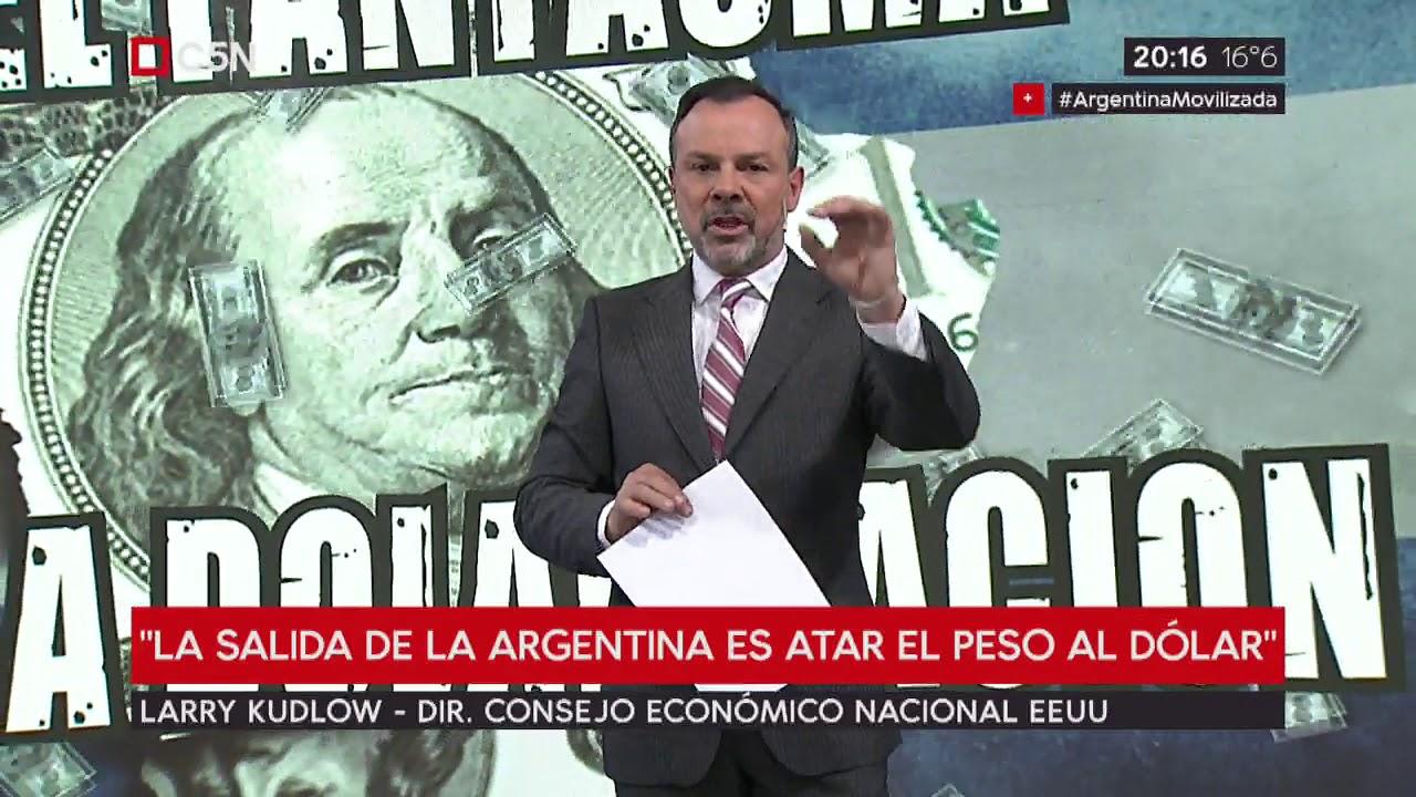 Estados Unidos busca la dolarización de Argentina