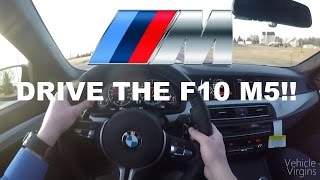What It's Like to Drive a 2016 BMW M5!
