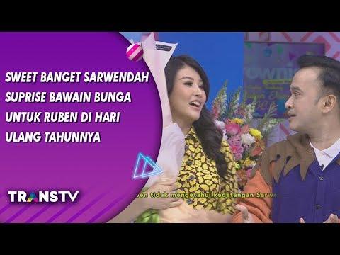 BROWNIS - Sweet Banget Sarwendah Surprise Bawain Bunga Untuk Ruben di Hari Ultahnya (15/8/19) Part 2