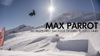 Max Parrot - World's First Double Backside Rodeo 1440