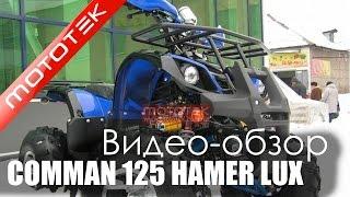 Видео обзор детского Квадроцикл Comman ATV 125сс Hamer Lux Mototek
