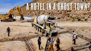 Rebuilding The American Hotel Has Begun! (ft. Heavy D Sparks)